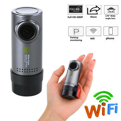 WiFi Hidden 720P FHD Mini CAR dash cam rear camera DVR Loop Video Recorder