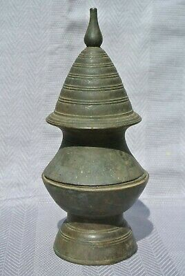 Burma Bronze Betel Lime Pot Eighteenth Century
