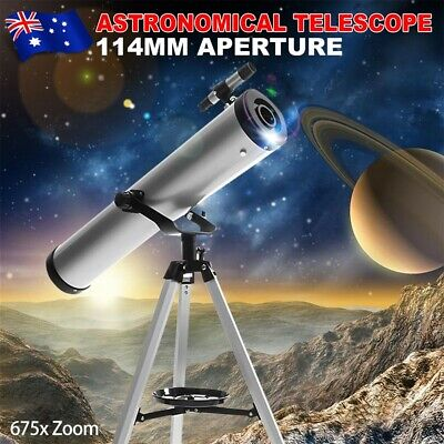 675x Zoom 114mm Aperture Astronomical Telescope Night Vision High Resolution yw