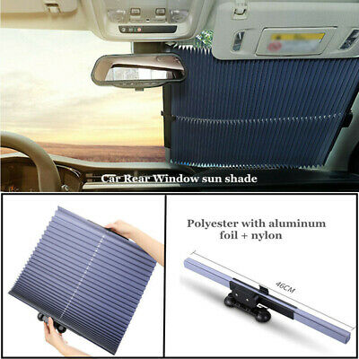 Auto Retractable Curtain With UV Protection Front Windshield Visor Auto Shade