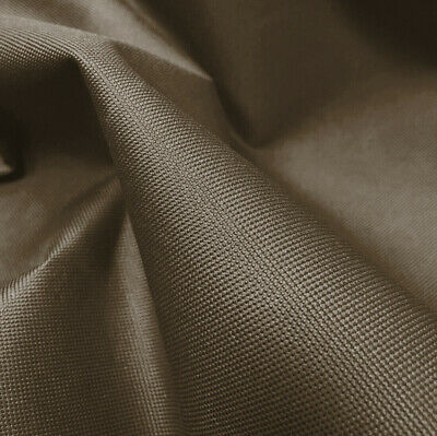 Brown Heavy Duty Thick Waterproof Canvas Fabric 600D Outdoor Cover Sold By Metre