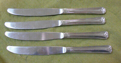 #D483.  Four Advertising Ware, Cutlery - Coat Of Arms Knives