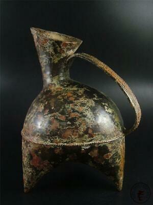 Very Large Old Chinese Bronze Made Bottle Vase Vessel Statue Collectibles