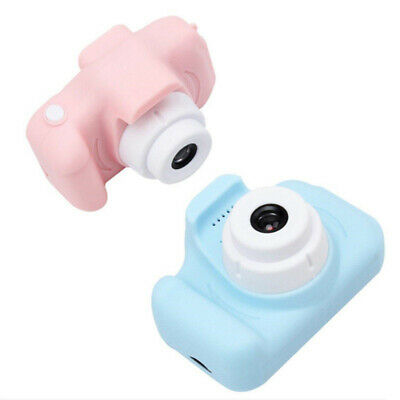 Mini Camara Cartoon Digital Infantil Para Niños 720 P Cable De Carga Y Cordon