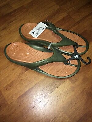 Crocs Unisex Athens-Army Green//Sienna color-NWT-Free Shipping