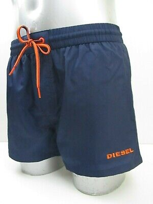 "AUTHENTIC Men's Diesel ""Sandy"", Navy Blue Swim Shorts. Sizes S - XL, BNWT"