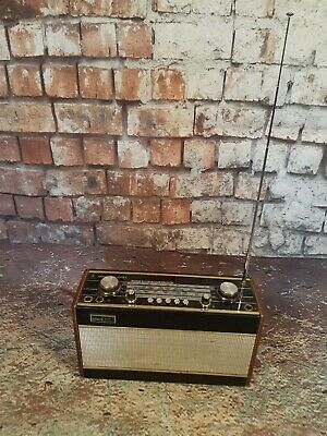Vintage Roberts Radio R707 VHF Early Collectors Wooden Great Condition