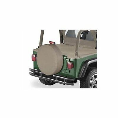 """Bestop Tire Cover Dark Tan Fabric Wraparound for Tires up to 10"""" Wide&30"""" Dia"""