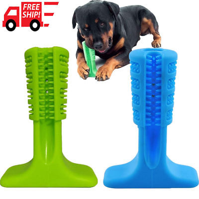 Pet spazzolino da denti Pulire pet giocattolo masticare Dog Toothbrush Pet Toy