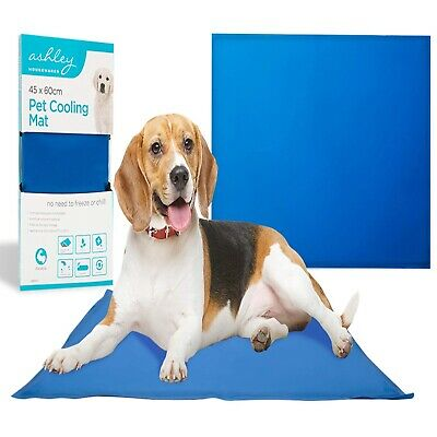 Pet Cooling Mat For Dog Cat 45 X 60cm  No need to Freeze.Heavy Duty. Foldable