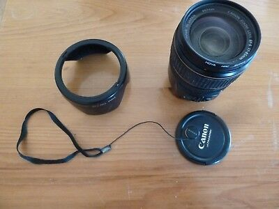 CANON ULTRASONIC  EF-S 17-85mm f/4.0-5.6 IS USM Lens IMAGE STABILIZER WITH HOOD