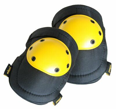 Rolson Hard Cap Knee Pads Grooved Durable Protection Thick Comfort Foam Plastic