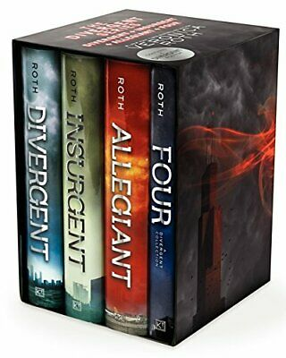 Divergent Series Four-Book Box Set: by Veronica Roth HARDCOVER 2014, Brand New