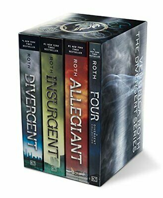 Divergent Series Four-Book Box Set: by Veronica Roth PAPERBACK 2016, Brand New