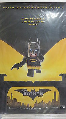 LEGO BATMAN MOVIE Original Movie Poster DS 27x40 Comedy Hit