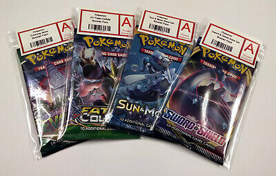 Pokemon Cards - Random Sun & Moon Booster Pack Cosmic Eclipse and More