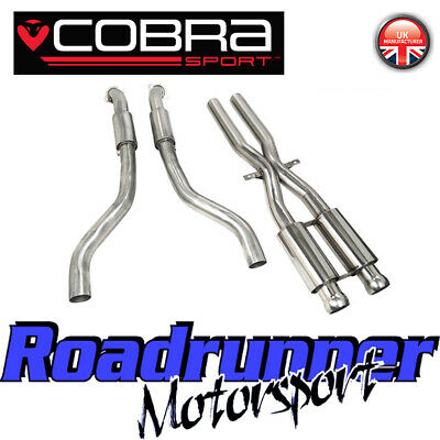 Cobra BMW M3 E92 E93 E90 Exhaust Decat Section & Front Pipes Stainless BM63 New