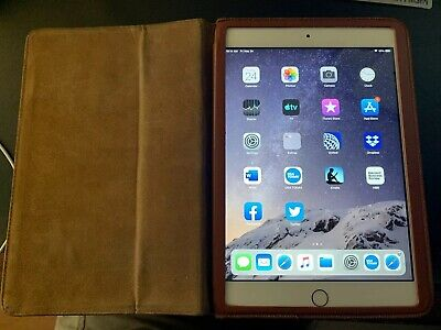 Apple iPad mini 3 128GB, Wi-Fi + Cellular (Verizon), 7.9in - Gold  Free Shipping