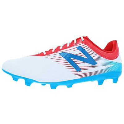 8db00e2ccfb New Balance Mens Furon 2.0 Dispatch FG White Cleats 10.5 Medium (D) BHFO  2096