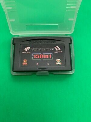 NES Classics Games 150 in 1 Gameboy Advance Multicart GBA