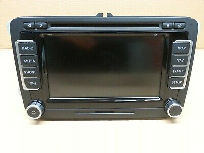 Original RNS 510 Vw Passat 3C, Golf 5 6, Tiguan, Touran, EOS,1T0035680AX TV Frei