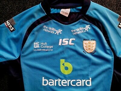 a893b559939 Isc Hull Fc Mens (Or Ladies) Rugby League Shirt Number 6 Richard Horne Exc