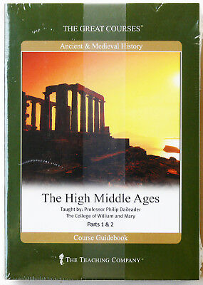 GREAT COURSES  4 DVD + Book  THE HIGH MIDDLE AGES   Professor Philip Daileader