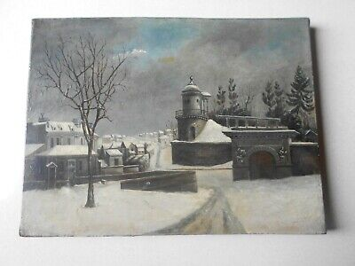 Old Oil Painting / Ancienne Peinture a l'Huile