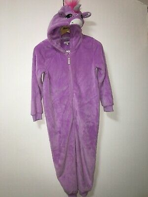 NEW Debenhams Bluezoo Lilac Unicorn Applique All In One Age 11- 12 Years RRP £32