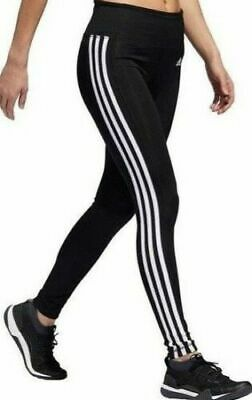 *NEW* Adidas Women's Climalite Three Stripe Active Athletic Tights Pant M L XL