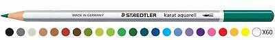 Staedtler Karat Aquarell Watercolour Pencil - Glacier Blue (Pack of 6)