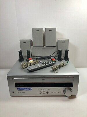 Sony HT-C800DP Home Theater System AVD-K800P 5 Disc DVD Receiver Player Speakers