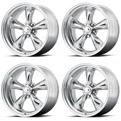 20x8 20x10 American Racing Vn515 Polished Torq Thrust Wheels Tires