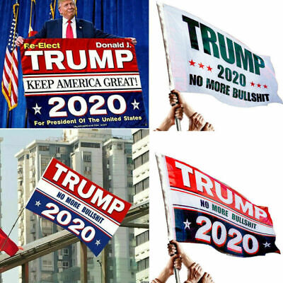 Trump 3x5 Ft Flag 2020 Make America Great Again Donald for President USA MAGA