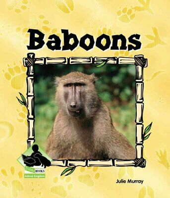 Baboons by Julie Murray 9781577657118 | Brand New | Free UK Shipping