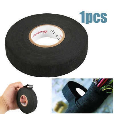 19mm x25m 51608 WIRING LOOM TAPE ADHESIVE CLOTH FABRIC HARNESS for Home Using UK