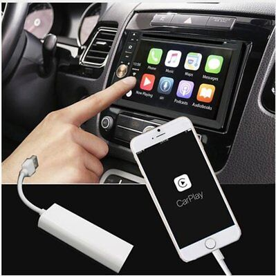 Carplay USB Dongle For Apple iPhone Android Car Auto Navigation Music PlayerCOIW