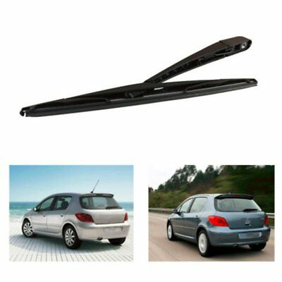 For 2002-2008 Peuget 307 SW/ESTATE Pair Rear Rain window Wiper Blade + Arm NewIW
