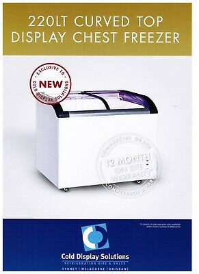 Chest Freezer Ice Cream Gelato