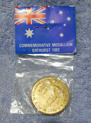 #D482.  1982  Royal Visit  Medal - Queen  Elizabeth Ii To Bathurst Nsw