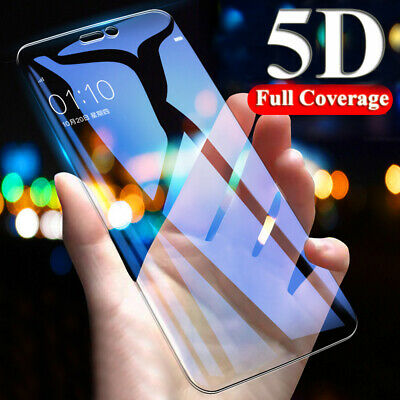 9D Full Cover Tempered Glass Film Protector for OnePlus 7 6T 5T Full Glue Screen