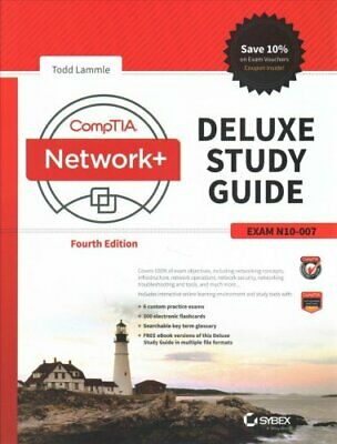 CompTIA Network+ Deluxe Study Guide Exam N10-007 by Todd Lammle 9781119432272