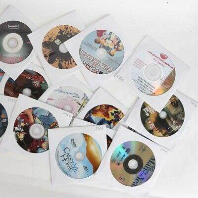 LOT of Over 800 DVDs Disc Only in Sleeves Great For Collector or Reseller