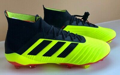 2e66a7fd6 Men s Adidas Predator 18.1 FG Firm Ground Soccer Cleats DB2037 Size 11.5