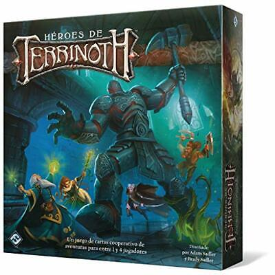 Fantasy Flight - Héroes de Terrinoth - Español Color (TER01ES)