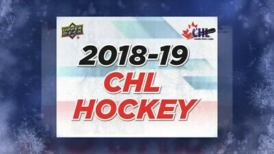 2018-19 Upper Deck CHL Hockey U-Pick (Base Cards) 1-300 **2 for 1 Special**