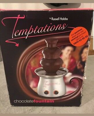 Russell Hobbs Temptations Chocolate Fountain New In Box