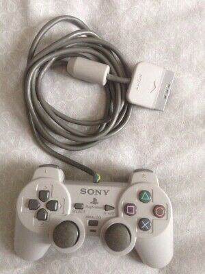 PS1 Playstation 1 - Official Sony Dual Shock Controller pad TESTED + WORKING