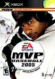 MVP Baseball 2005 - Xbox Very Good Condition Sports