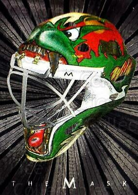 2001-02 Between the Pipes The Mask Silver #19 Manny Fernandez